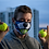 Thumbnail: 'Border Collie' Reusable Face Mask