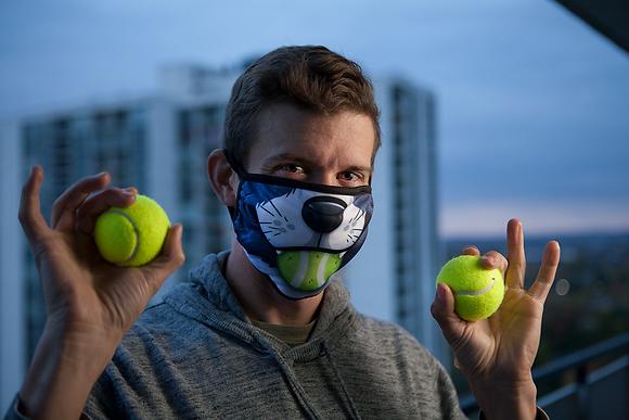 'Border Collie' Reusable Face Mask