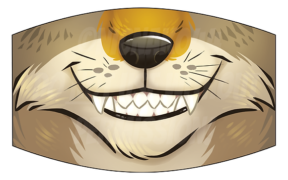 'Coyote' Reusable Face Mask