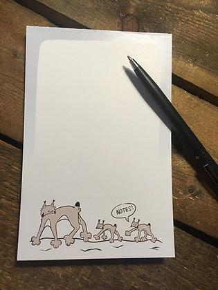 Lynx Mom Notepad