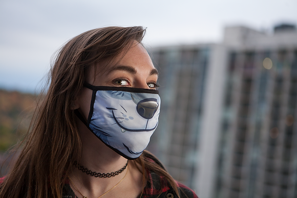 'Wolf' Reusable Face Mask