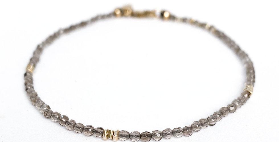 Smoky Quartz Gemstone Bracelet
