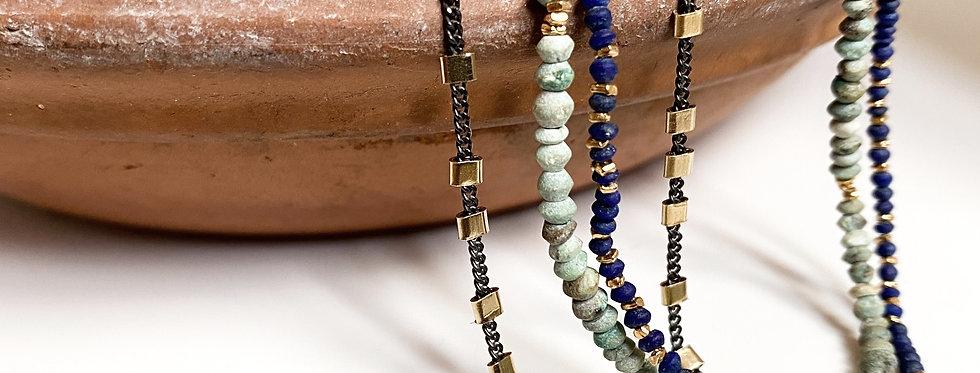 Afghan Turquoise Gemstone Bracelet