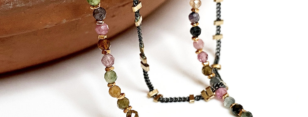 Tourmaline Gemstone Bracelet
