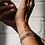 Thumbnail: Tiny Silver Beaded Bracelet