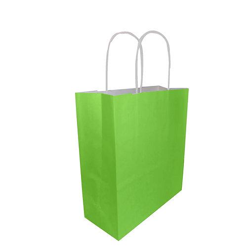 Borsette verde chiaro - Con manico arrotolato