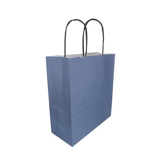 Borsette blu - Con manico arrotolato nero