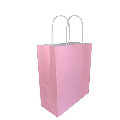 Borsette rosa - Con manico arrotolato
