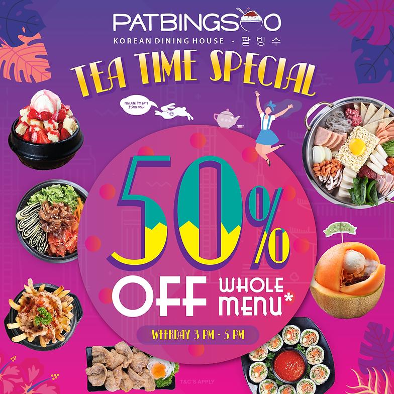 Patbingsoo Korean Dining House - Where Bingsu meets Korean Food