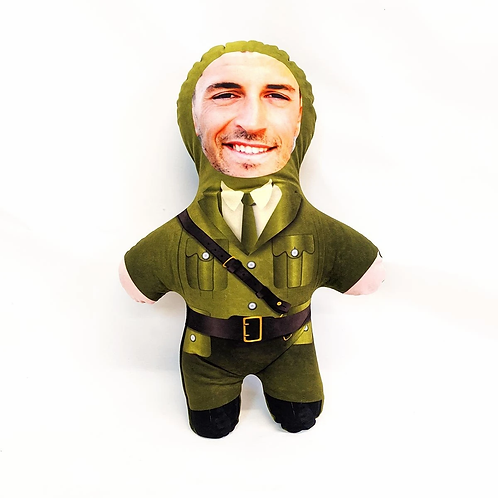 SOLDIER FACE DOLL
