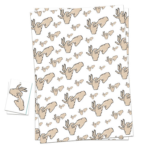 'WINK WINK' WRAPPING PAPER