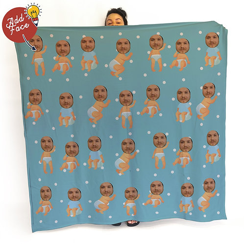 BABY FACE BLANKET