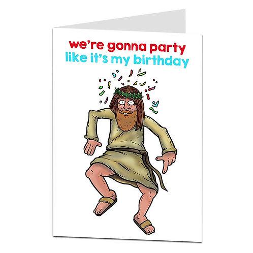 JESUS' B'DAY CARD