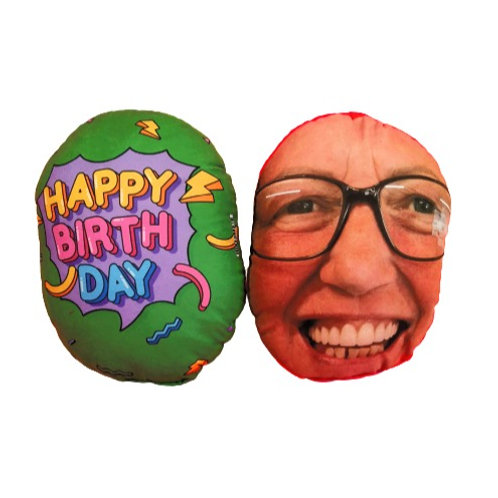 HAPPY BIRTHDAY FACE CUSHION