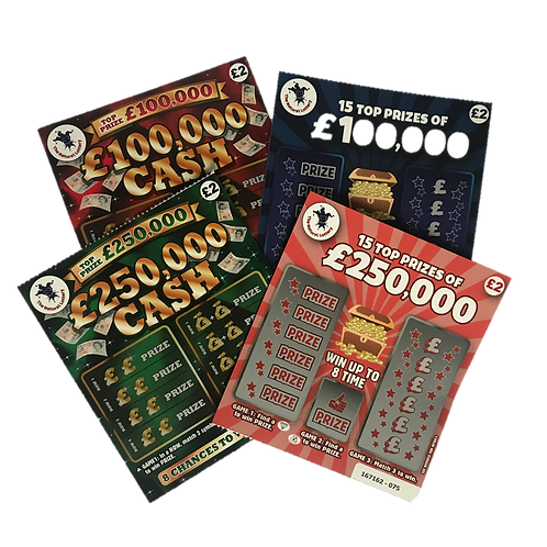 ALWAYS WIN SCRATCH CARDS