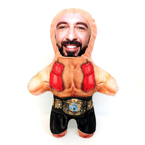 BOXER FACE DOLL