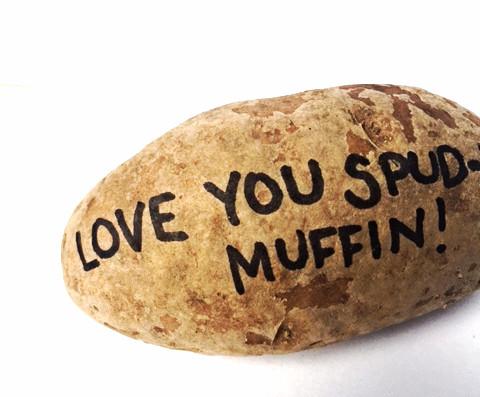 Greetings Spud Muffin