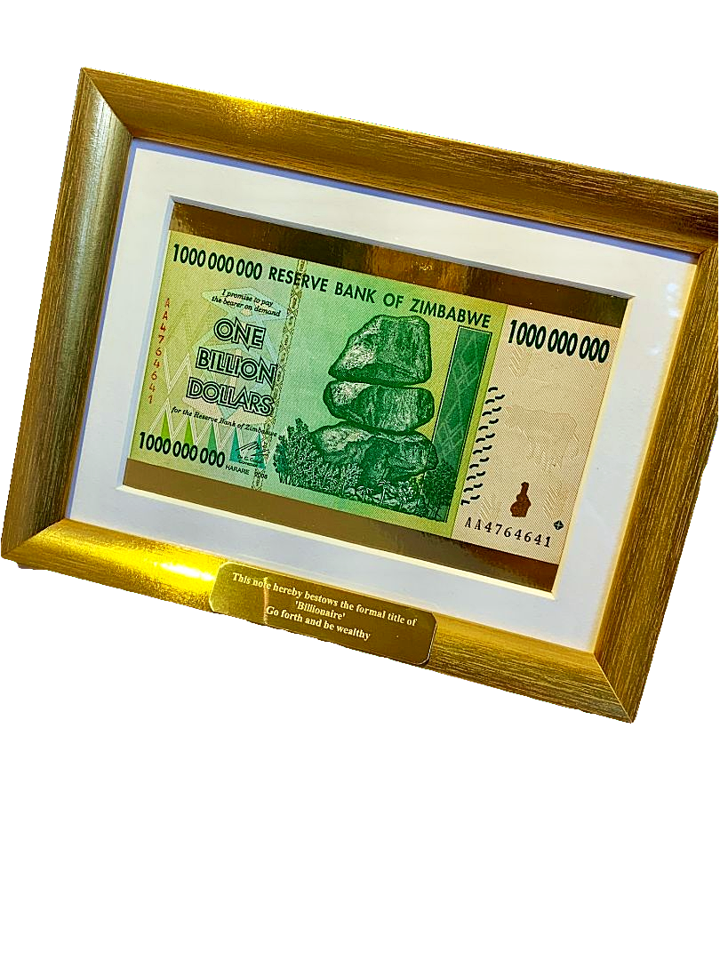 Text A Potato Potatoe Unusual Different Weird Crazy Gift Ideas Present Parcel Anonymous Mail Fun Funny Weird Gifts Billion Dollars Framed Money Real Currency Billionaire