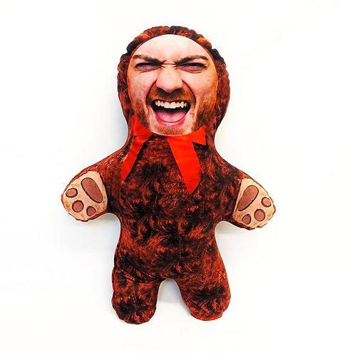 TEDDY BEAR FACE DOLL