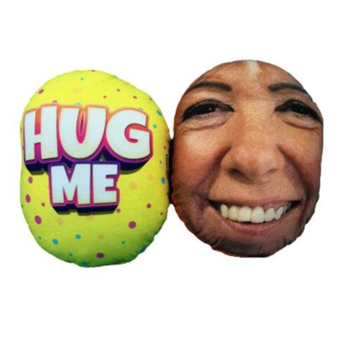 'HUG ME' FACE CUSHION