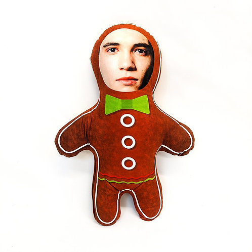 GINGERBREAD FACE DOLL