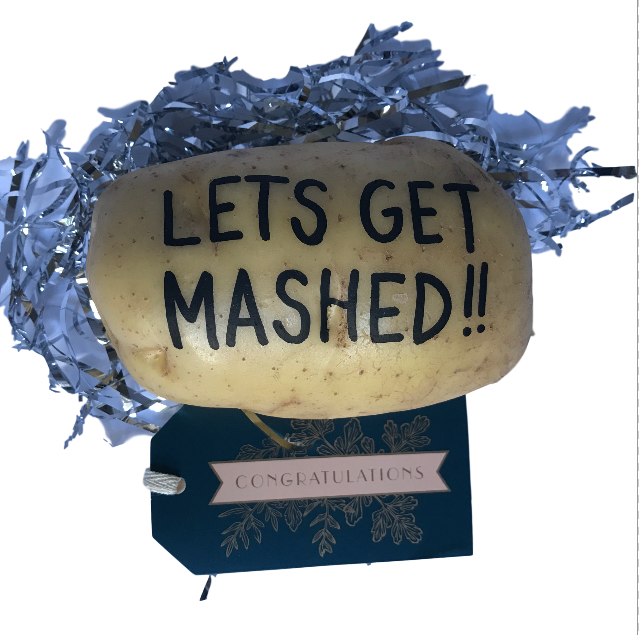 Congratulations. Someone sent you a potato.