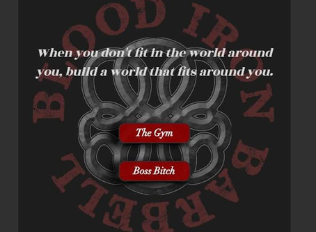 Blood Iron Website