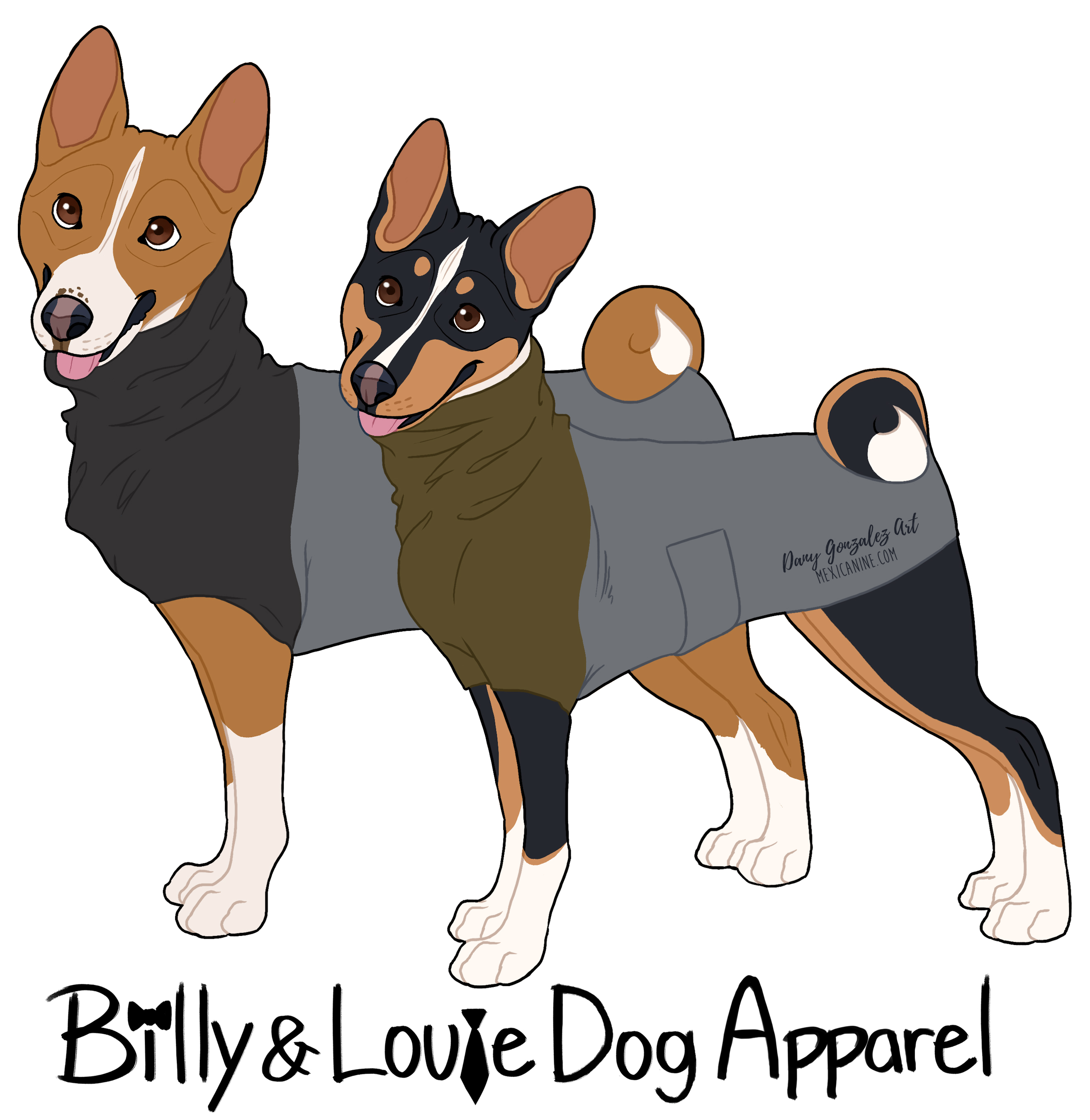 billy&louie dog apparel