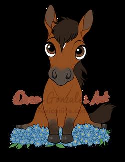 horse chibi