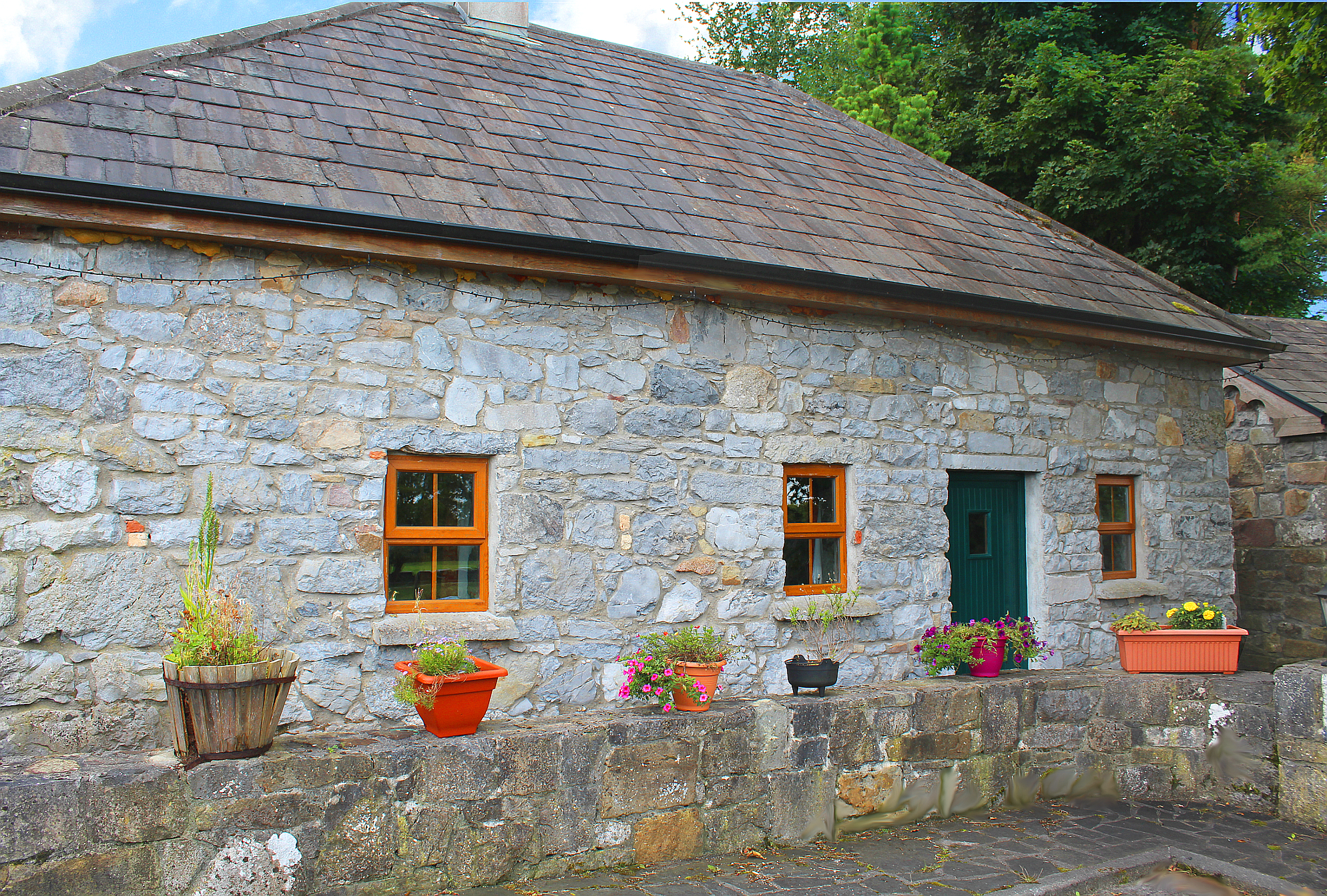 Traditional Irish Stone Cottage