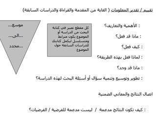 Essay Structure (Arabic version)