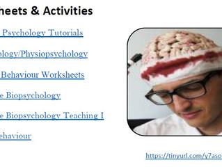 Biopsychology Learning Resource