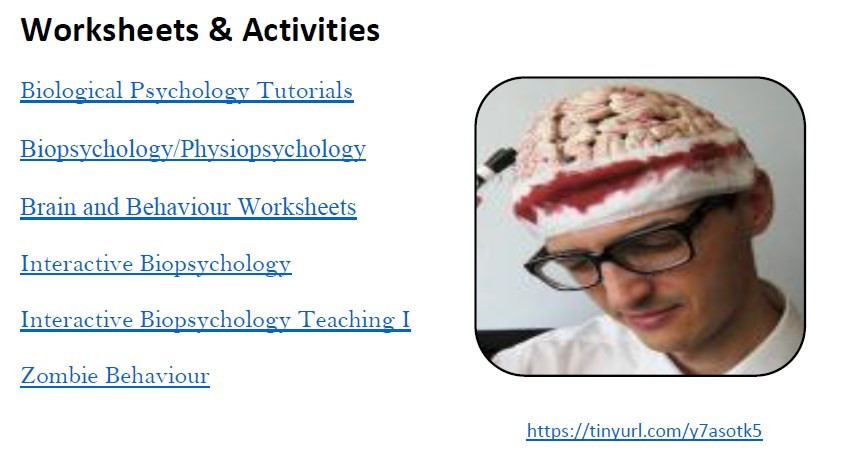 biopsychology review tutorials
