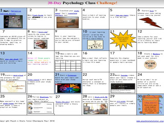 30 Day Psychology Class Challenge!
