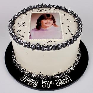 Printed Image Cake