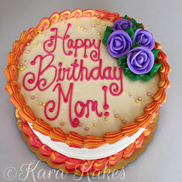 Mom Birthday Cake