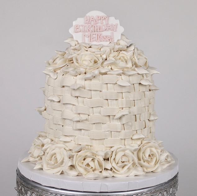 Kardashian Birthday Cake