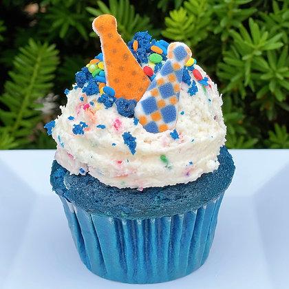 Blue Velvet Cake Batter