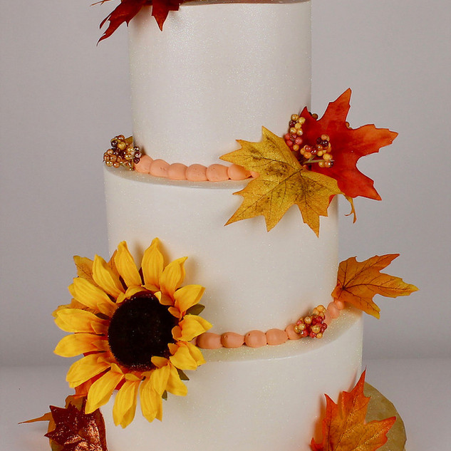 Autumn Theme Cake