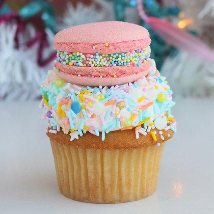 Cake Batter Macaron