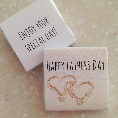 'Love you Dad' mini chocolates