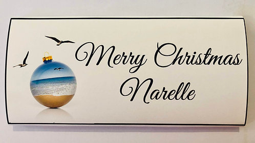 Sorrento place card chocolate