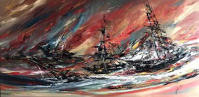 Louis_Julien_The_Great_Battle_30x60_Acry