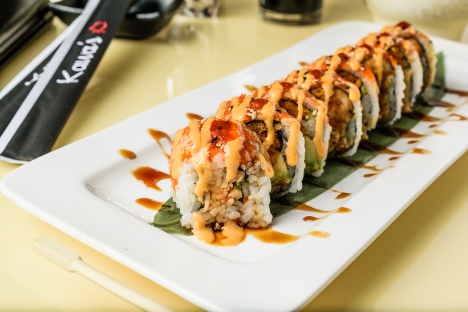 Fuji Mountain Roll