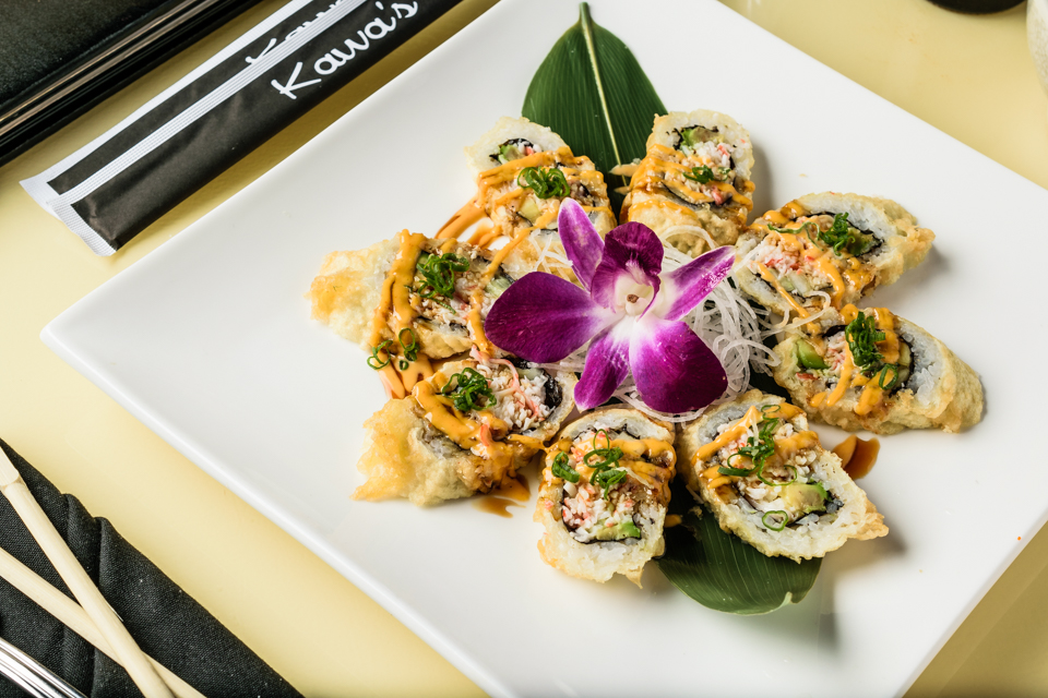 Golden California Roll