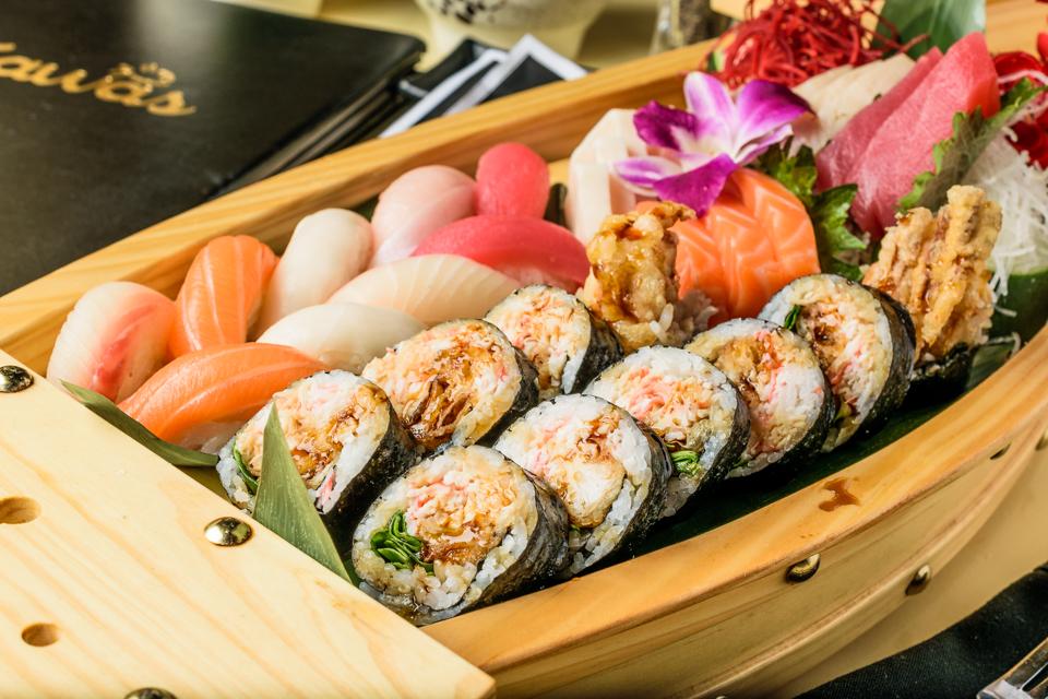 Sushi and Sashimi Boat