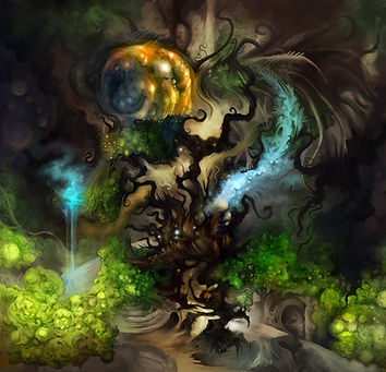 Dr Macia's Unreal Tree, One Throne Magazine