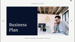 Capa de projeto - Business plan