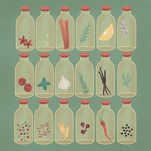 Spice Bottles