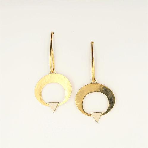 Falling Spearhead Earrings